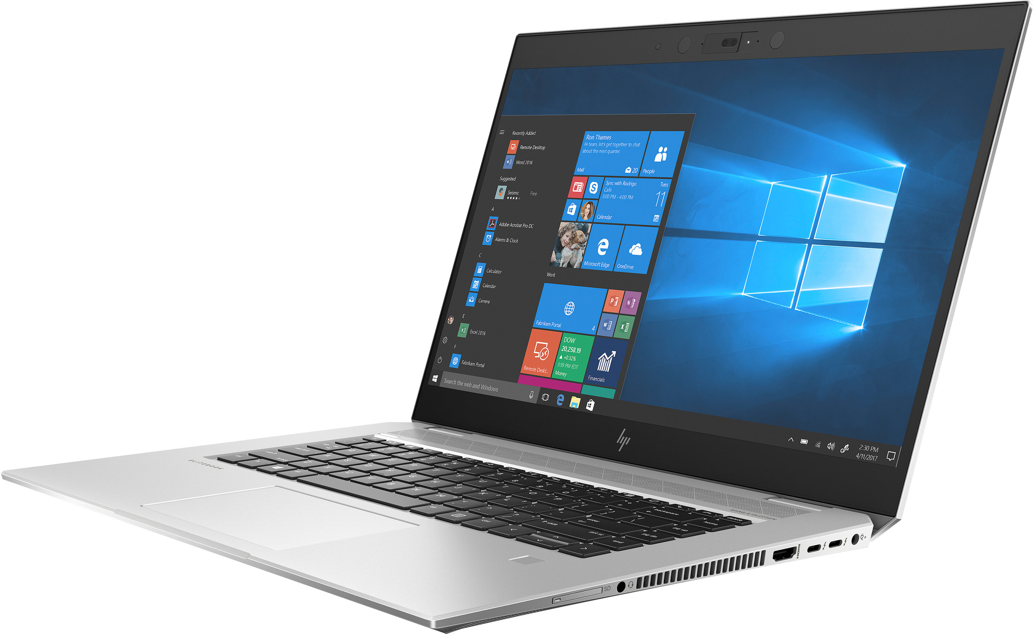 HP Elitebook 1050 G1 i7-16GB-1TB-GTX1050
