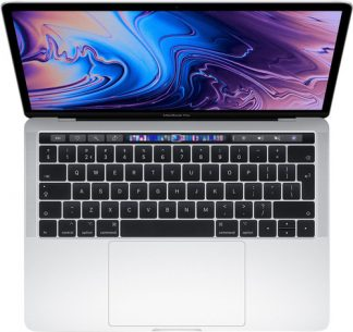 "Apple MacBook Pro 13"" Touch Bar (2019) MV9A2N/A Zilver"