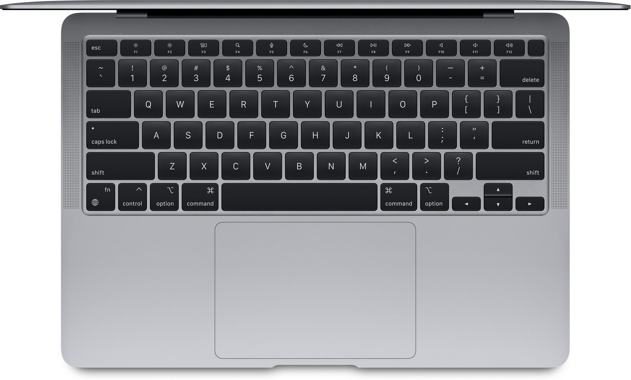 Apple MacBook Air (2020) 16GB/256GB Apple M1 met 7 core GPU Space Gray